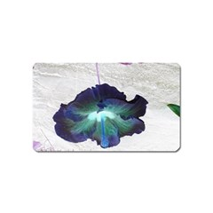 Exotic Hybiscus   Name Card Sticker Magnet by dawnsebaughinc