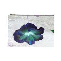 Exotic Hybiscus   Large Makeup Purse by dawnsebaughinc