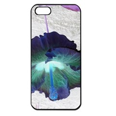 Exotic Hybiscus   Apple Iphone 5 Seamless Case (black) by dawnsebaughinc