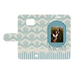 mothers day - Samsung Galaxy S2 Woven Pattern Leather Folio Case