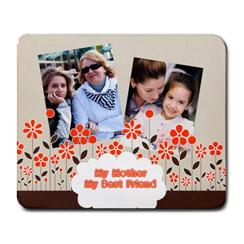 Mothers Day By Mom   Collage Mousepad   Lnikg144ehkc   Www Artscow Com 9.25 x7.75 Mousepad - 1