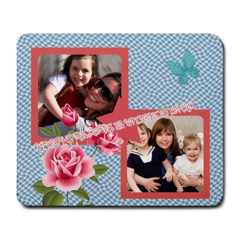 Mothers Day By Mom   Collage Mousepad   4jaf6ni282n4   Www Artscow Com 9.25 x7.75 Mousepad - 1