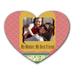 mothers day - Mousepad (Heart)