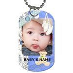 BOY - Dog Tag (One Side)