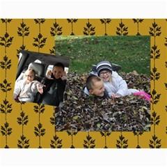 Christmas Calendar 2012 By Amber    Wall Calendar 11  X 8 5  (12 Months)   8eq26kxcyiy5   Www Artscow Com Month