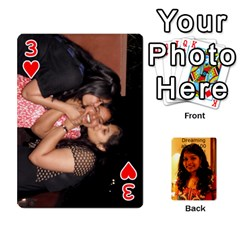 Sonal Gift By Sonal Kothari   Playing Cards 54 Designs   Nqz6l77gl895   Www Artscow Com Front - Heart3