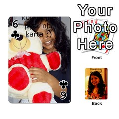 Sonal Gift By Sonal Kothari   Playing Cards 54 Designs   Nqz6l77gl895   Www Artscow Com Front - Club6