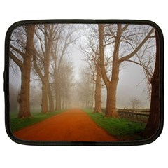 Foggy Morning, Oxford 15  Netbook Case by artposters