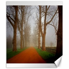 Foggy Morning, Oxford 20  X 24  Unframed Canvas Print by artposters