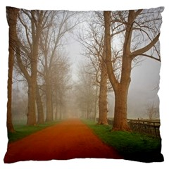 Foggy Morning, Oxford Large Cushion Case (one Side) by artposters