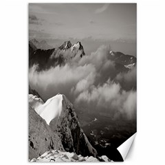 Untersberg Mountain, Austria 12  X 18  Unframed Canvas Print by artposters