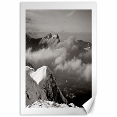 Untersberg Mountain, Austria 20  X 30  Unframed Canvas Print