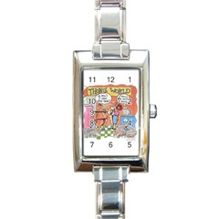 Thong World Classic Elegant Ladies Watch (rectangle) by mikestoons
