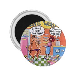 Thong World Regular Magnet (Round) by mikestoons