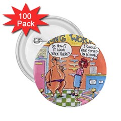 Thong World 100 Pack Regular Button (round) by mikestoons