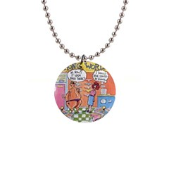 Thong World Mini Button Necklace