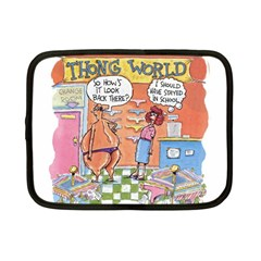 Thong World 7  Netbook Case by mikestoons