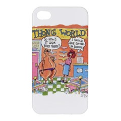 Thong World Apple Iphone 4/4s Hardshell Case by mikestoons