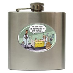 The Good News Is     Hip Flask