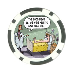 The Good News Is     Poker Chip by mikestoons