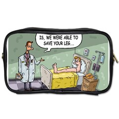 The Good News Is     Single Sided Personal Care Bag by mikestoons