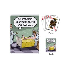 The Good News Is     Playing Cards (mini) by mikestoons