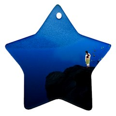 Central Park, New York Twin Sided Ceramic Ornament (star) by artposters