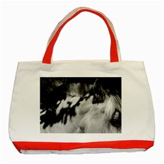 Horse Red Tote Bag by artposters