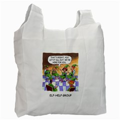 Elf Help Group Twin Sided Reusable Shopping Bag by mikestoons