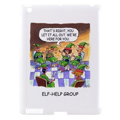 Elf Help Group Apple Ipad 3/4 Hardshell Case (compatible With Smart Cover) by mikestoons