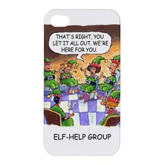 Elf Help Group Apple Iphone 4/4s Premium Hardshell Case by mikestoons