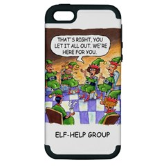 Elf Help Group Apple Iphone 5 Hardshell Case (pc+silicone) by mikestoons
