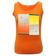 Geometry Dark Colored Womens'' Tank Top