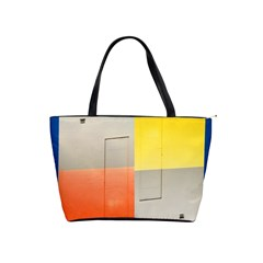 Geometry Large Shoulder Bag by artposters