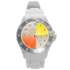 Geometry Round Plastic Sport Watch Large by artposters