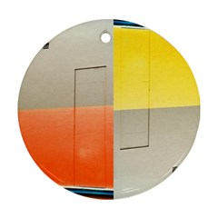 Geometry Ceramic Ornament (round) by artposters