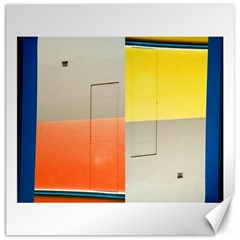 Geometry 20  X 20  Unframed Canvas Print