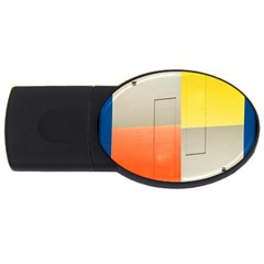 geometry 1Gb USB Flash Drive (Oval)