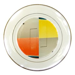Geometry Porcelain Display Plate by artposters