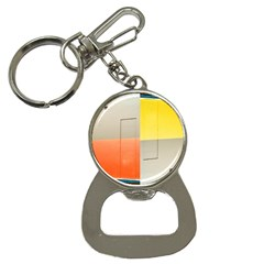 Geometry Key Chain With Bottle Opener by artposters