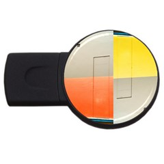 Geometry 2gb Usb Flash Drive (round) by artposters