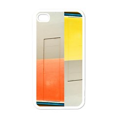Geometry White Apple Iphone 4 Case by artposters