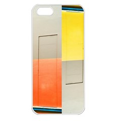 Geometry Apple Iphone 5 Seamless Case (white) by artposters