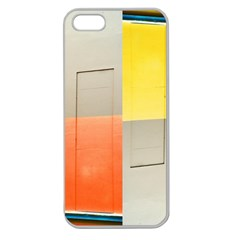 Geometry Apple Seamless Iphone 5 Case (clear) by artposters