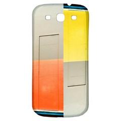 Geometry Samsung Galaxy S3 S Iii Classic Hardshell Back Case by artposters