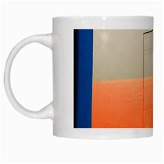 Geometry White Coffee Mug by artposters