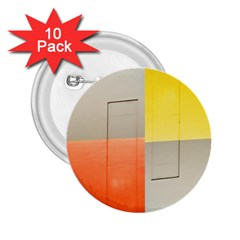 Geometry 10 Pack Regular Button (round) by artposters