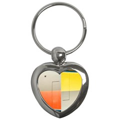 Geometry Key Chain (heart) by artposters