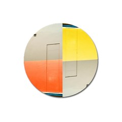 Geometry Large Sticker Magnet (round) by artposters
