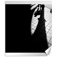 Shadows 20  X 24  Unframed Canvas Print